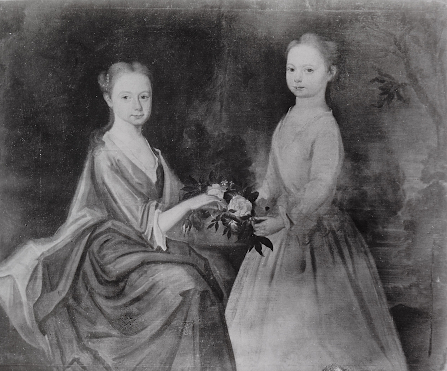 Lucy Grymes (left) and Hannah Grymes (right)
