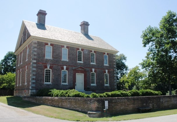 Governor Nelson ordered cannon fired at his house during the siege of Yorktown in October, 1781
